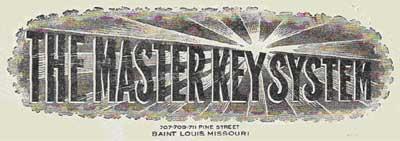 The Master Key System banner header