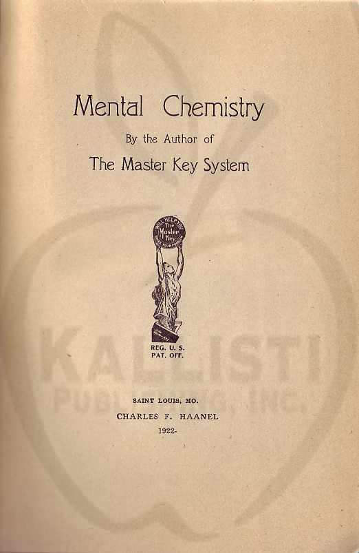 The Books and Writings of Charles F. Haanel