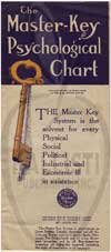 The Master Key Psychological Chart Cover